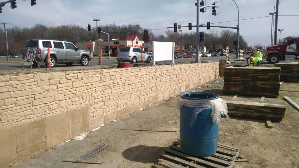 CORNERSTONE COMMONS FORMLINER WALLS - Bedrock Concrete LLC